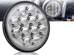 1 Round Led Headlights 5.75, 5 3-4,H5006, H5001 Par46; Spotlight Truck Led Light Replacement Sealed Beam Dyna Chrome