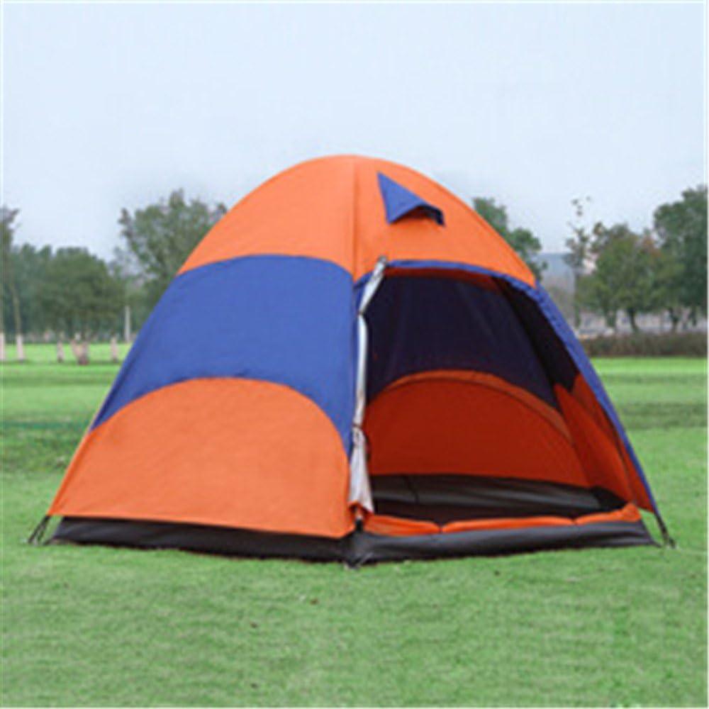 HONEYY Altamente Resistente a Establecer rápidamente una Carpa tiritas de Plata Equipo 5 bunk Sola Puerta Exterior Carpa Camping 240 * 240 * 145cm