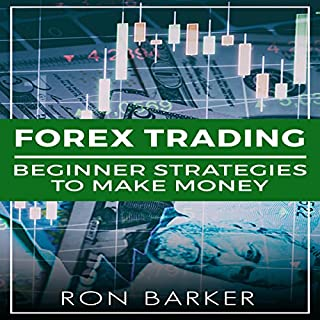 Forex Trading: Beginner Strategies to Make Money audiobook cover art