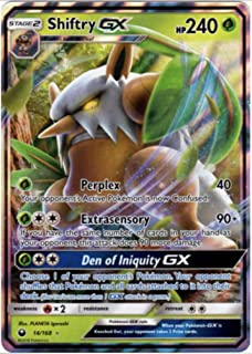 Shiftry GX - 14/168 - Ultra Rare - Celestial Storm - NM/M - 100% Guaranteed Authentic