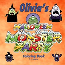 Olivia's Halloween Monster Party Coloring Book