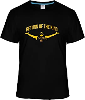 Beatles Rock Men's Fashion RETURN OF THE KING LeBron James t shirt black