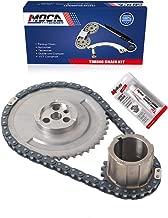 MOCA Timing Chain Kit for 97-07 Chevrolet Silverado 2500 HD & Chevrolet Express 2500 & 00-07 GMC Savana Sierra 1500 Yukon 4.8L 5.3L 6.0L V8 OHV