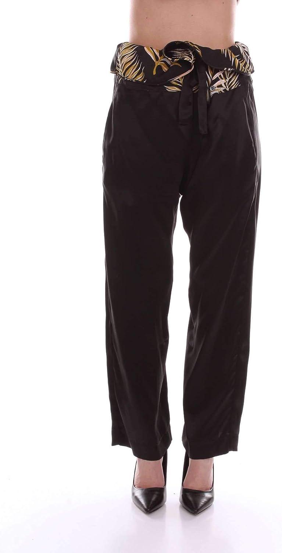 FORTE FORTE Women's 5591black Black Other Materials Pants