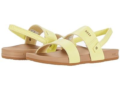 Reef Kids Little Cushion Vista (Infant/Toddler/Little Kid) (Lemonade) Girls Shoes