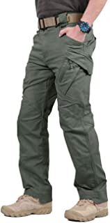 TACVASEN Men's Outdoor Tactical Pants Lightweight Assault Cargo