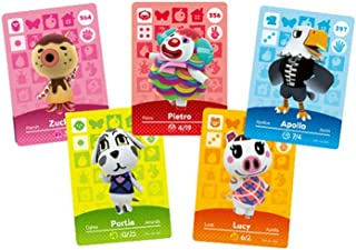Animal Crossings New Horizons Series 1-4 NFC Cards 24pcs, Switch Game tag Cards.