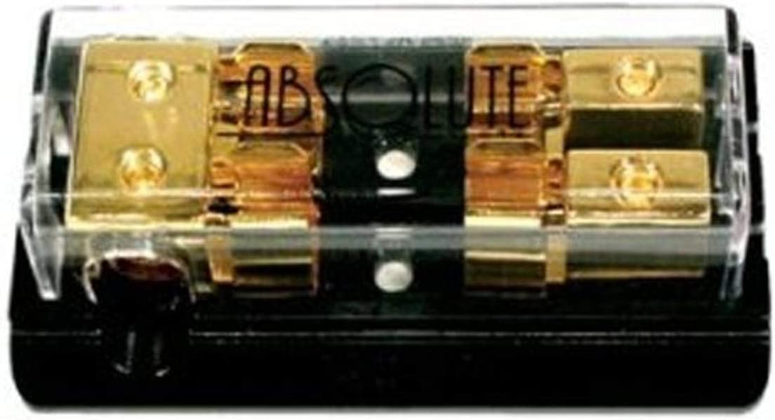 Absolute AGD22G 2 Gang Gold AGU Fuse Distrubution Block