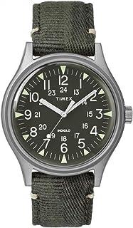 Timex MK1 Quartz Movement Green Dial Men's Watch, No Color, Size One Size
