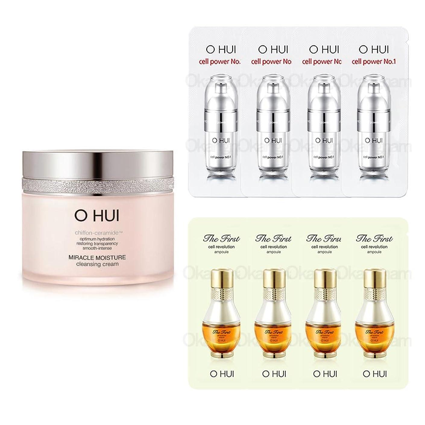 続編放課後無力[オフィ/ O HUI]韓国化粧品 LG生活健康/OHUI Miracle Moisture Cleansing Cream/ミラクル モイスチャー クレンジング クリーム200ml +[Sample Gift](海外直送品)