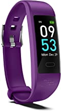Snoky Fitness Tracker with Heart Rate Monitor, Sleep Tracker, IP68 Swimming Waterproof, 7-13 Days Playtime, Calorie Counte...