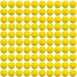 Yosoo 100 pcs Cartouches de Recharges Compatibles Paquet de Boules de Cartouches de Rechange pour Jeu Nerf Rival Apollo Zeus Enfants Gamins Jouets Fusil TH589