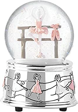 Reed and Barton Ballerina Collection Water Globe, 2.2 LB, Multi