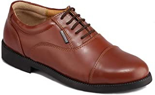 Red Chief Men's Tan Leather Lace-ups