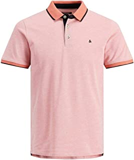 JACK & JONES Men's Jjepaulos Polo Ss Noos Shirt