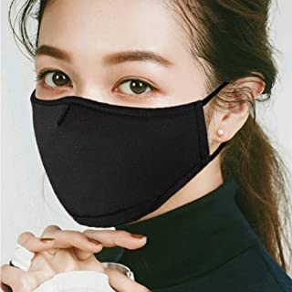 Cotton Face Masks Reusable Anti Dust Pollution Mouth Mask - Washable Air Filter Mask for Women and Men - Protection from Flu Germ Pollen Allergy Respirator Mask