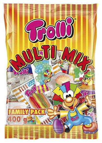 Trolli Multi-Mix Fruchtgummi, 8er Pack (8 x 400 g)