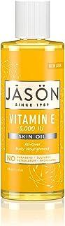 JASON Vitamin E 5,000 IU All Over Body Nourishment Oil, 4 Fl Oz (Packaging May Vary)