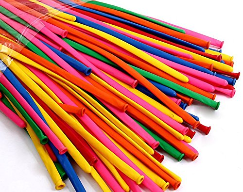 king's deal 200 Pcs 260q Twisting Balloons - Assorted Color Twisty Balloons- Professional Party Accessory Packs of 200