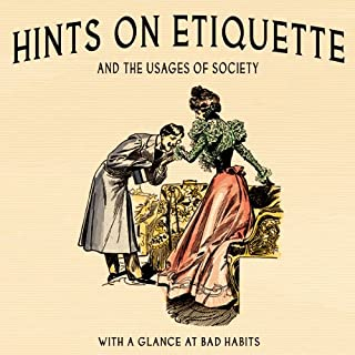 Hints on Etiquette and the Usages of Society audiobook cover art