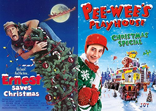 Pee-Wee's Playhouse: Christmas Special & Ernest Saves Christmas DVD Wacky Holiday Double Feature