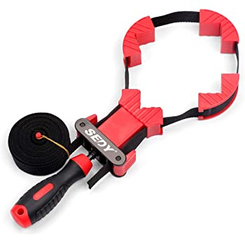 SEDY Band Clamp, Frame Clamp Quick Release Strap Clamp For Woodworking, Belt Clamp Strap Clamp