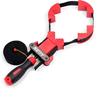 SEDY Band Clamp, Woodworking Frame Clamp Strap Holder for Picture Strap Clamp Strap Clamp