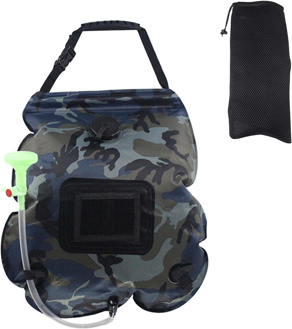 DENPETEC Shower Sacramento Mall Bag Camping Solar Popular brand in the world Portable