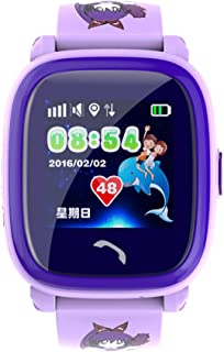 iikids GPS Smart Watch Baby DF25 with Touch Screen SOS Call Location DeviceTracker for Kid Safe