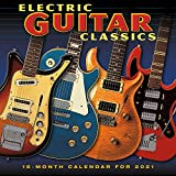 2021 Electric Guitar Classics 16-Month Wall Calendar