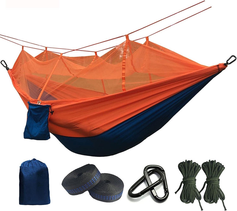 QQAA trend Directly managed store rank Camping hammocks Portable Hammock Ha Mosquito Parachute net
