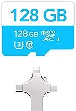 Tesla Dashcam 128 GB USB Flash Drive - Sentry Mode - Tesla Model 3 - Model S - Model X - Model Y - 128 GB Micro SD Card with Card Reader