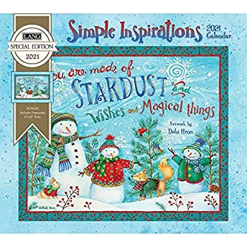 The Lang Companies Simple Inspirations Special Edition Wall Calendar 2021