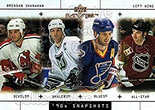 (CI) Brendan Shanahan, Stanley Cup Hockey Card 1999-00 Upper Deck MVP 90s Snapshots 5 Brendan Shanahan, Stanley Cup