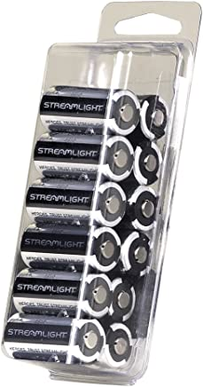 Streamlight 85177 CR123A Lithium Batteries, 12-Pack