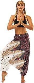 Nuevo!! Pantalones De HaréN De La India Danza Pantalones De Yoga Pantalones Hippie Boho Mujeres Desgaste Playa Fiesta Mono