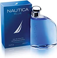 Nautica Blue Eau de Toilette Spray para Hombre, 3.4 Oz/100 ml