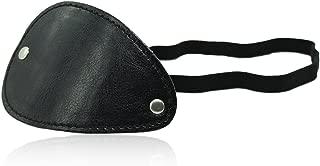 Costume Mask Eyewear Elastic Band Leather Eye Patch for Cosplay
