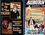 1989 Auburn football media guide (only listed)