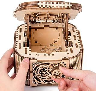 comprar comparacion XIONGDA 3D Rompecabezas de Madera DIY mecánico joyero con contraseña de Bloqueo Hecho a Mano Deportes Capacidad de Pensami...