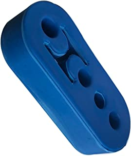 AC PERFORMANCE Vehicle Car Auto Muffler Exhaust Insulator Tail Pipe Mount Brackets Hanger Bushing 4 Holes, Blue EPDM Rubber 12mm (0.47