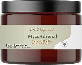 EcoNugenics MycoAdrenal Mushroom Supplement for Healthy Adrenal Support - Reishi, Cordyceps, Turkey Tail, Maitake, Shitake...