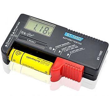 液晶 測定器 単1~5形 9V形乾電池 1.5Vボタン電池 乾電池 残量 チェッカー テスター