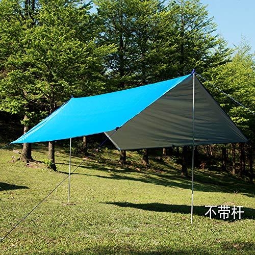 Outdoor Canopy Rectangular Sunshade Windproof Outdoor Multifunctional Canopy Waterproof Sunscreen Beach Sunshade Canopy Moisture-Proof Mat Floor Mat