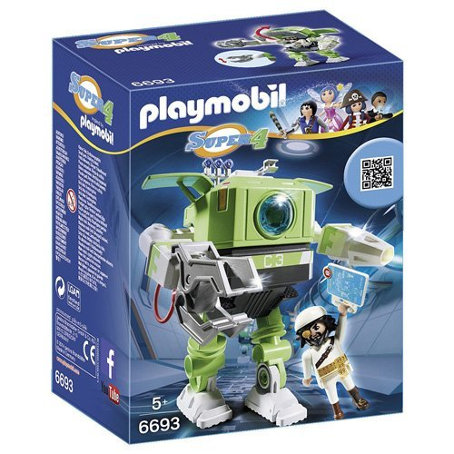 PLAYMOBIL: Cleano Robot playset  6693