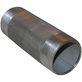 LASCO 32-2064 Stainless Steel Pipe Nipple with 1 1//4-Inch Male Pipe Thread