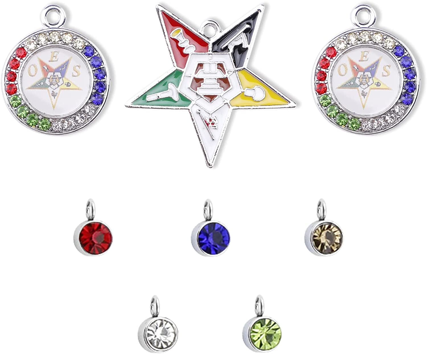 8pcs Order of The Eastern Jewelry OES Fees free!! Star Sorority 100% quality warranty