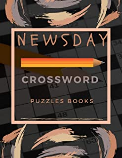 Newsday Crossword Puzzles Books: Brain Games - Crossword Puzzles - Large Print, Games for Every Day quick crossword collection Puzzle   Book Brain (USA Today Puzzles)