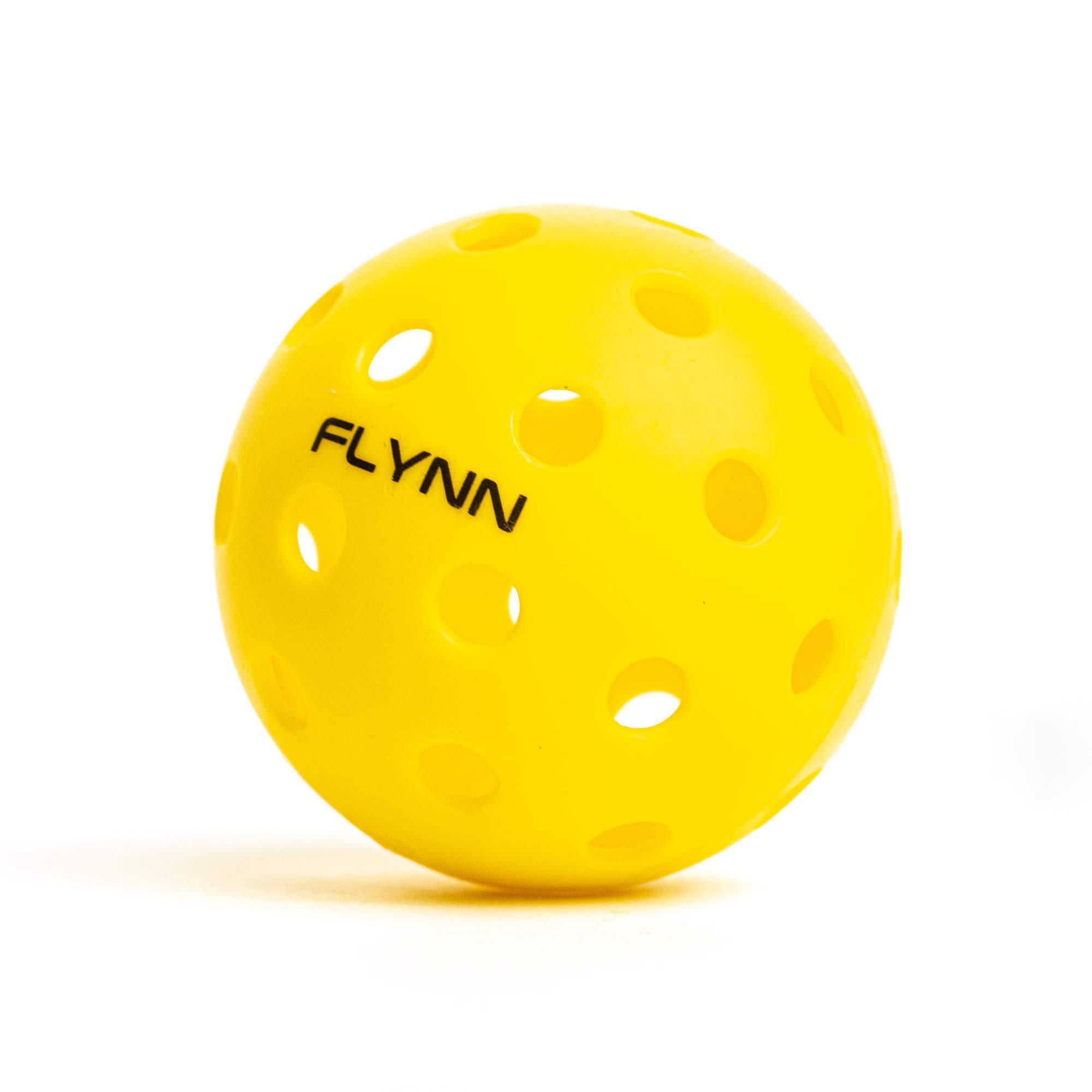 Flynn Outdoor Pickleball Balls Bright Yellow Pickle Balls 6