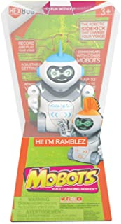 HEXBUG 431-6845 MoBots Ramblez Recording and Talking Robot Kit with Lights, Sound and Flexible Body Smart Interactive Educ...